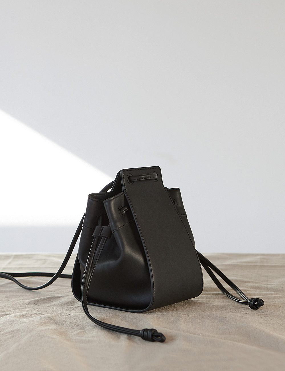 MAISON246,246 AME BAG - BLACK,No.246