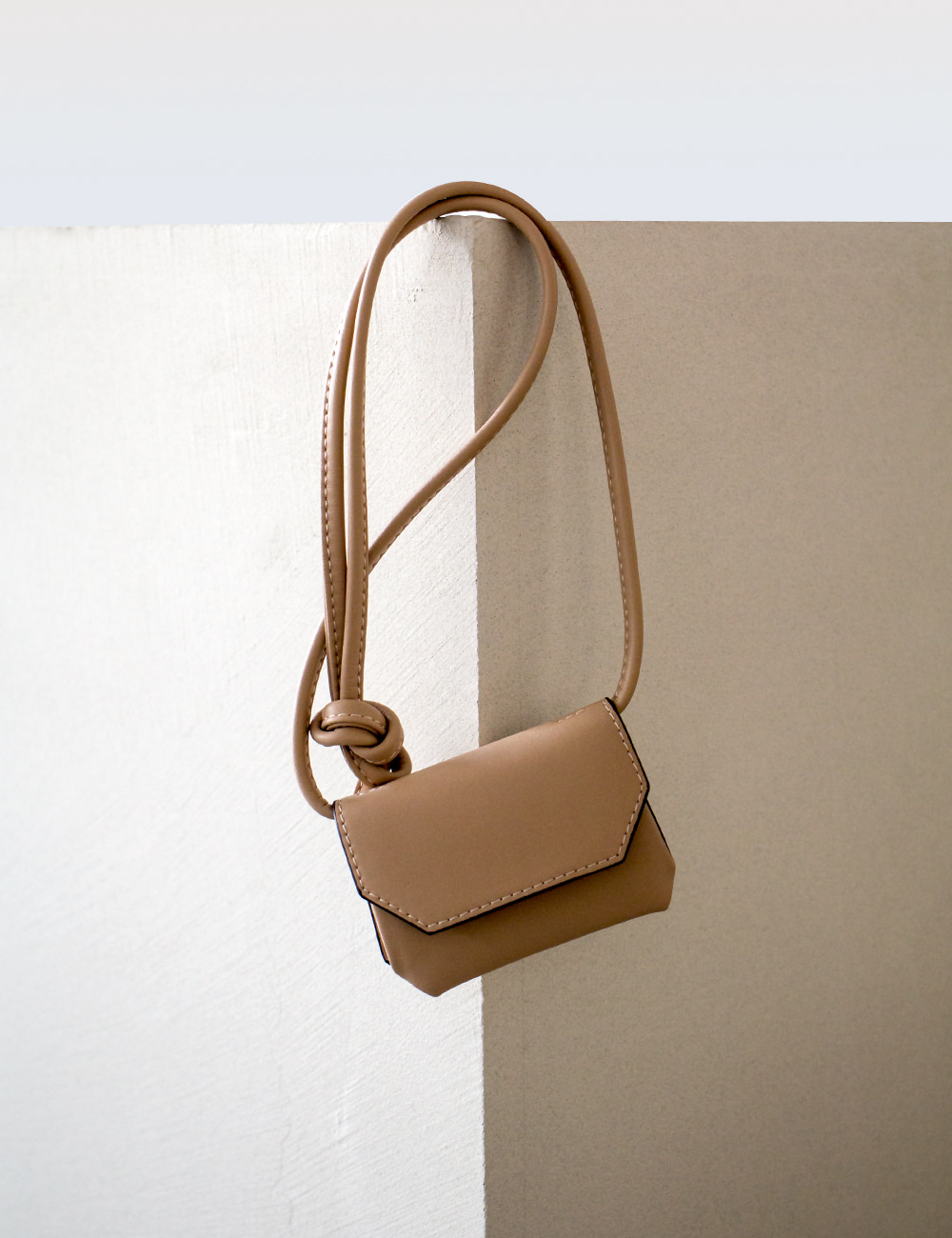 MAISON246,246 KOE WALLET BAG - BEIGE,No.246
