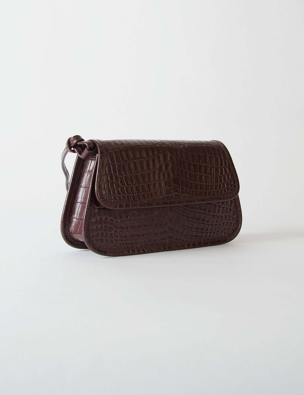 MAISON246,[2차 리오더]246 KOE MINI CROCO_BROWN,No.246